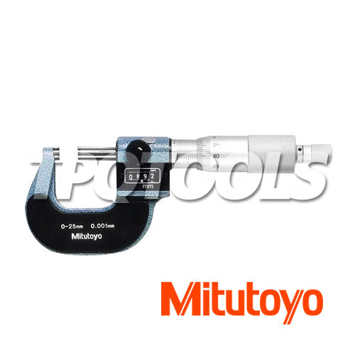 25-50mm Ratchet Stop Mitutoyo 193-102 Digit Outside Micrometer