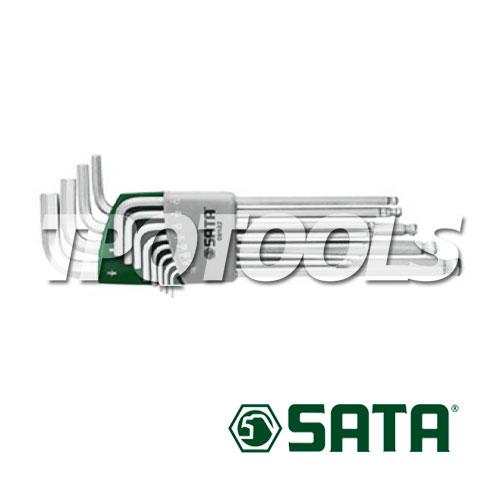 ชุดประแจแอลหัวกลม 12 ชิ้น ยาวพิเศษ  (S.A.E.) 94609102