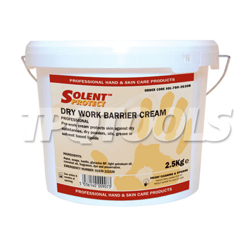 Dry Work Barrier Cream SOL-780-2020B