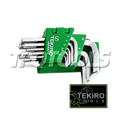 ชุดประแจแอลหกเหลี่ยม TKWHK08SMS
