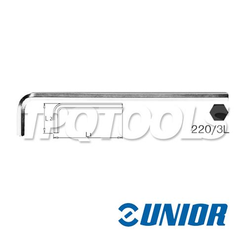 ประแจแอล 6P ตัวยาวรุ่น 220/3L (mm)