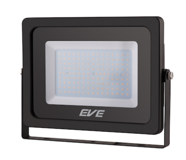 LED Floodlight  Slender 150W Warmwhite