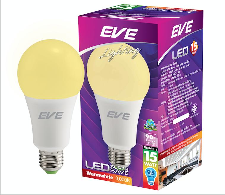 LED A70 Super Save 15W Warmwhite