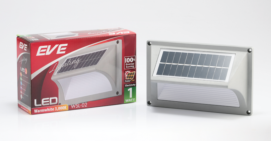 LED Solarcell WSL-02 1W Warmwhite