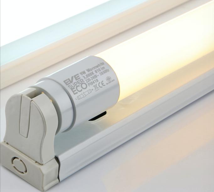 LED Fullset T8 Super ECO  18w Warmwhite