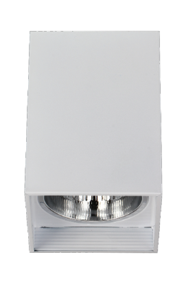 Downlight Surface Mouted EL-06002 6 inch Square White Diamond
