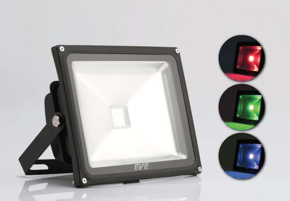 LED Flood RGB 50w 220V
