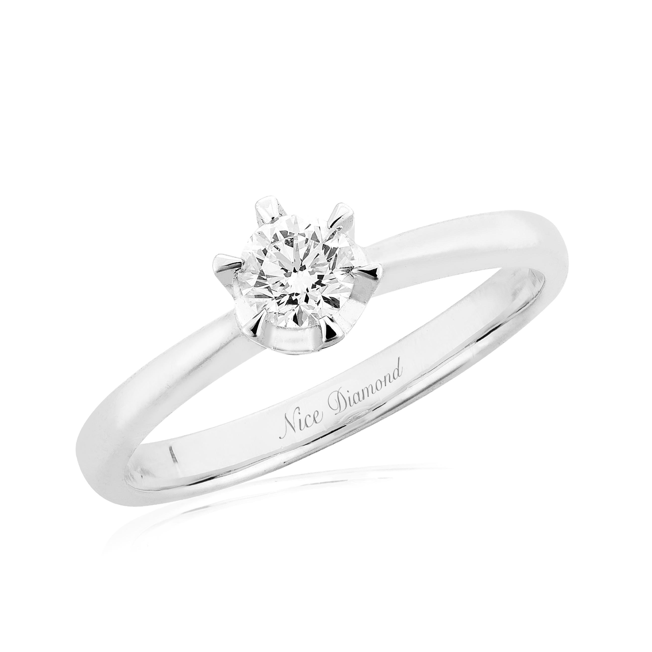 แหวนเพชรครึ่งกะรัต KD3896