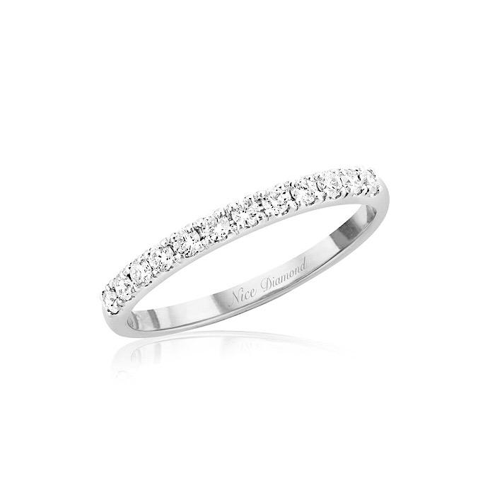 แหวนเพชรแถว ดีไซน์เก๋น่ารักทันสมัย KD3891