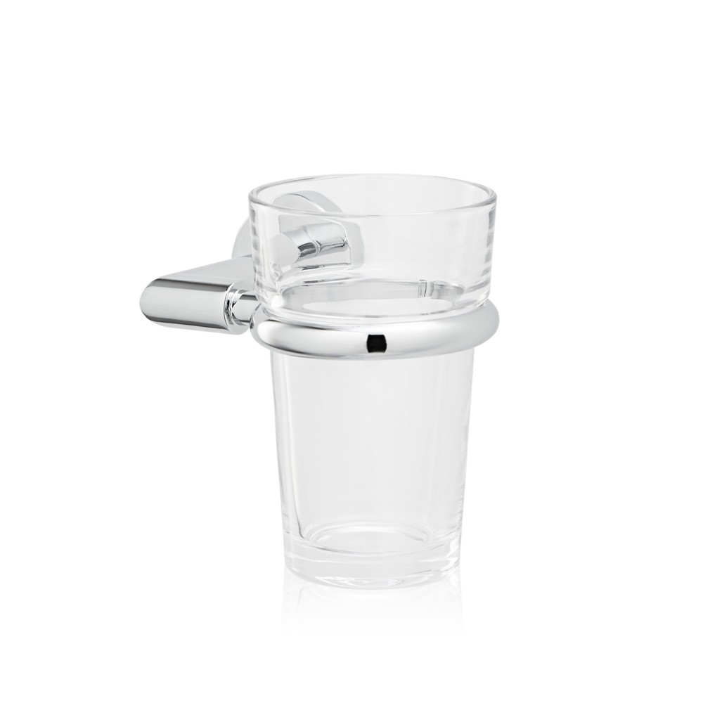 Holder + Crystal glass