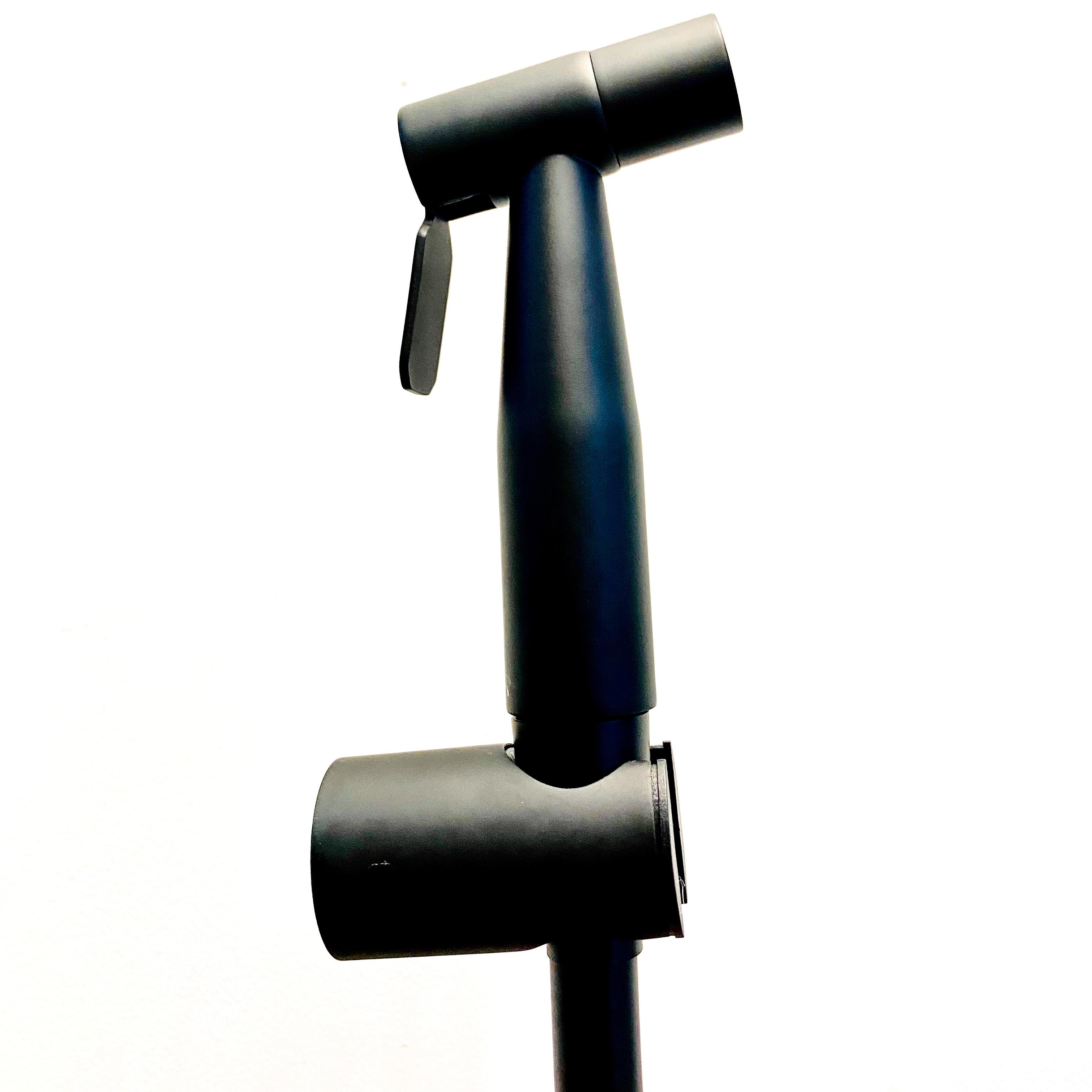 ชุดสายฉีดอเนกประสงค์แสตนเลส 304 พ่นสีดำ  LJ-P080A-2A