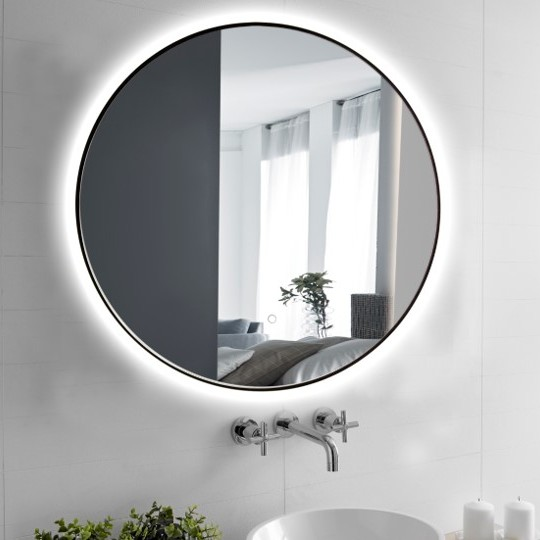 Focco กระจกไฟ LED รุ่น DARA BLACK