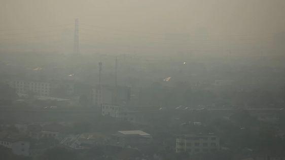 อุตุฯเตือนฝุ่นพิษ PM2.5 ปกคลุมกทม.-ปริมณฑล แผ่ขยายเข้มข้นมากขึ้น