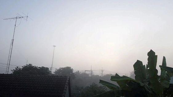 """ประกาศกรมอุตุฯ ฉบับ 11 พายุ """"แมตโม"""" อ่อนกำลังลง กทม.ลด 3 องศา"""