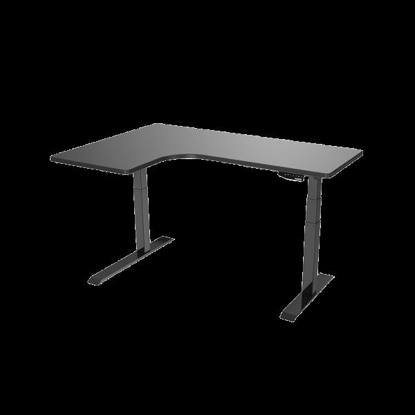 โต๊ะปรับระดับ โต๊ะทำงานปรับระดับไฟฟ้า (ท็อปโต๊ะรูปทรง L)