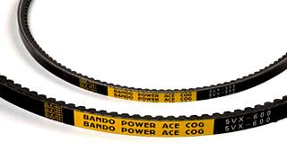 สายพานร่องวี ร่องลึก ชนิดมีฟัน / Cog Power Ace Belts