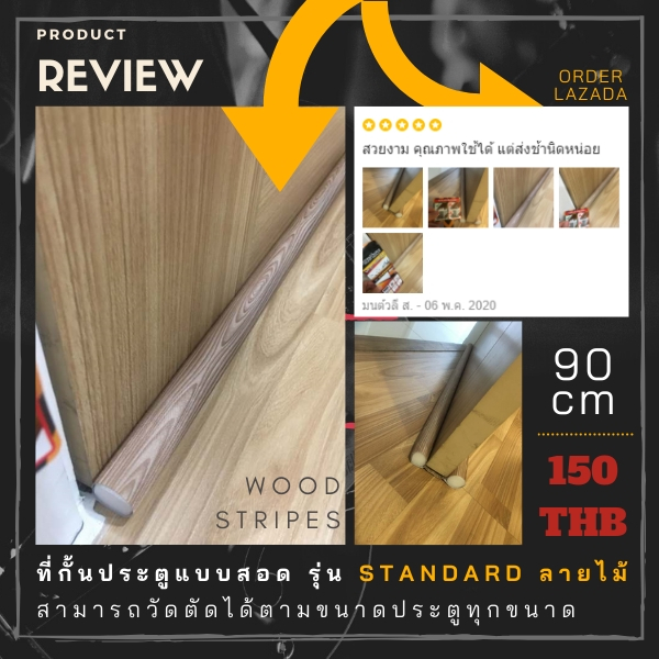 #Review from customer Slimfit wood(copy)(copy)