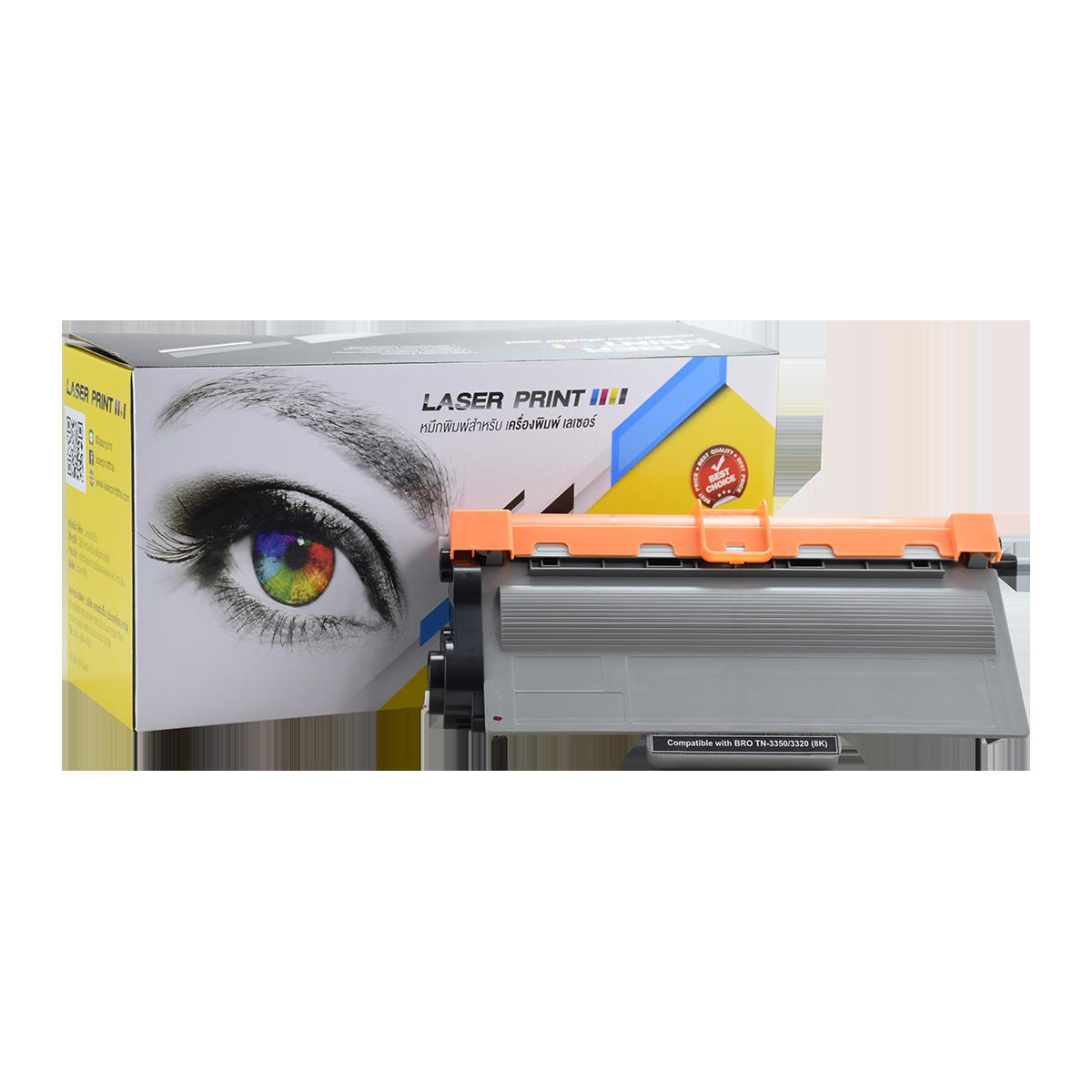 TN-3350/TN-3320 8K Laserprint  BrotherBlack