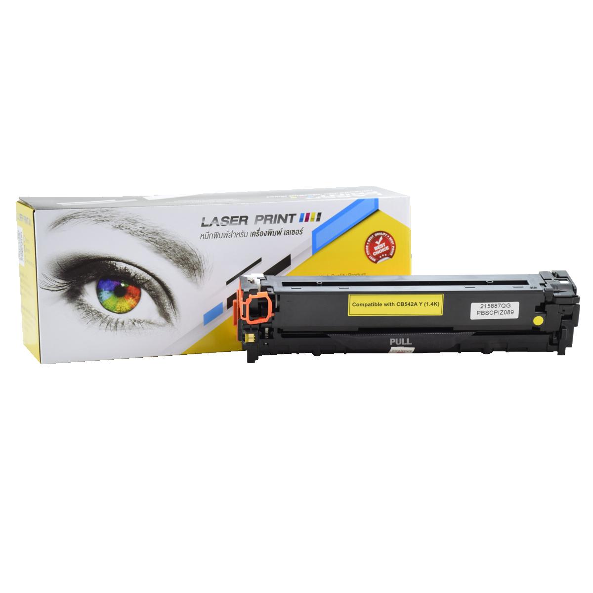 CB542A (HP 125A) /Canon Cartridge 316/416Y 1.4k Laserprint Yellow