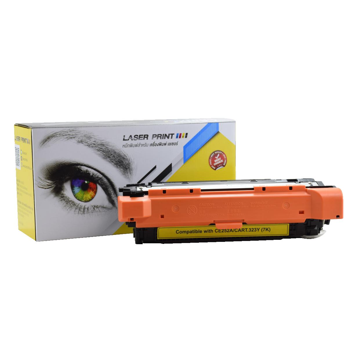 CE252A (HP 504A)/Canon Cartridge 323Y 5k Laserprint Yellow