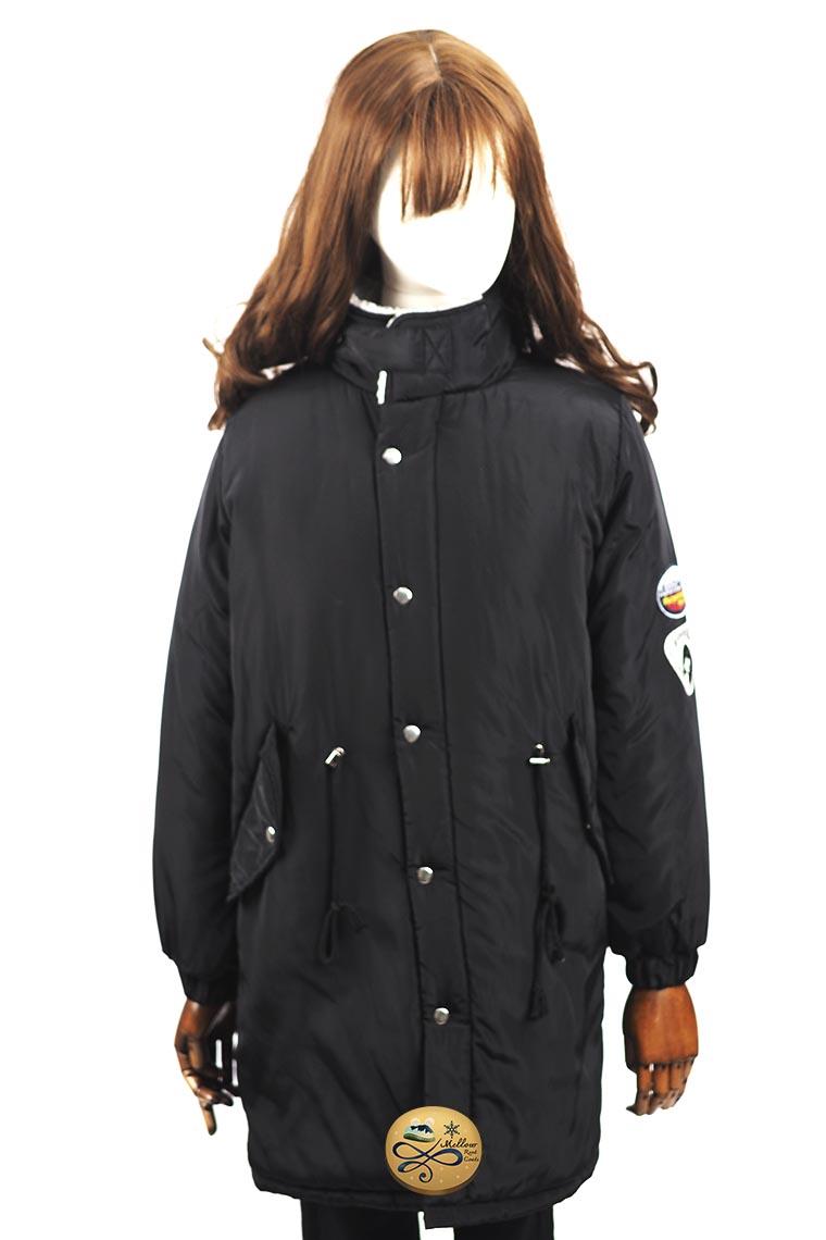 เช่าเสื้อขนเป็ดรุ่น   Obsidian Padded Overcoat  0912GDS657FABK2XL1