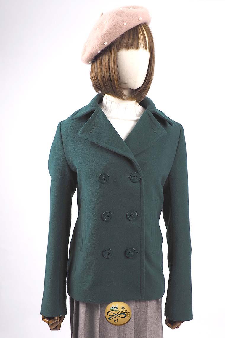 เช่าเสื้อโค้ทผู้หญิง รุ่น   Lush Meadow Pea Coat   902GCS127FAGNS1
