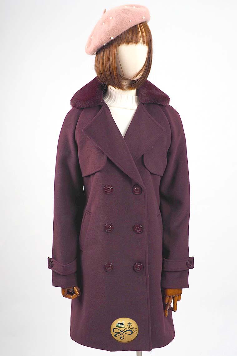 เช่าเสื้อโค้ทผู้หญิง รุ่น Mulberry Fur Faux  Coat  901GCL008FARE