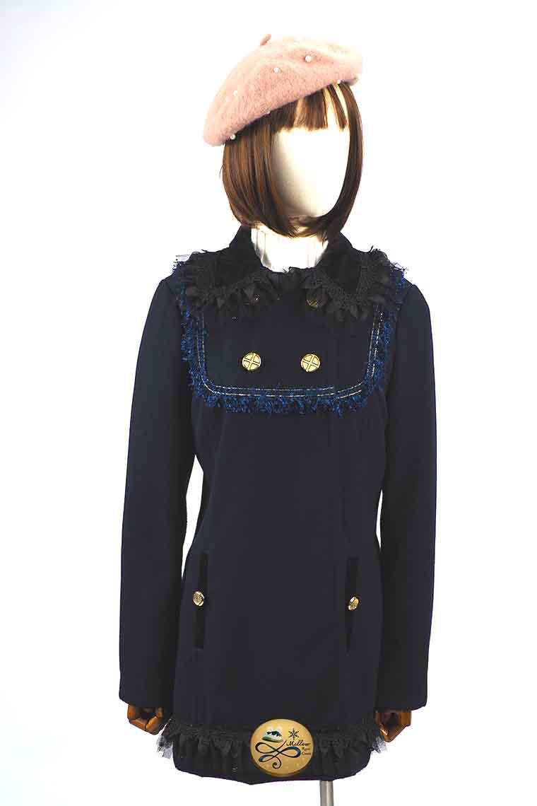 เช่าเสื้อโค้ทผู้หญิง  Limited Editon  รุ่น   Astral Night Pea Coat  902GCL128ZRNAS1