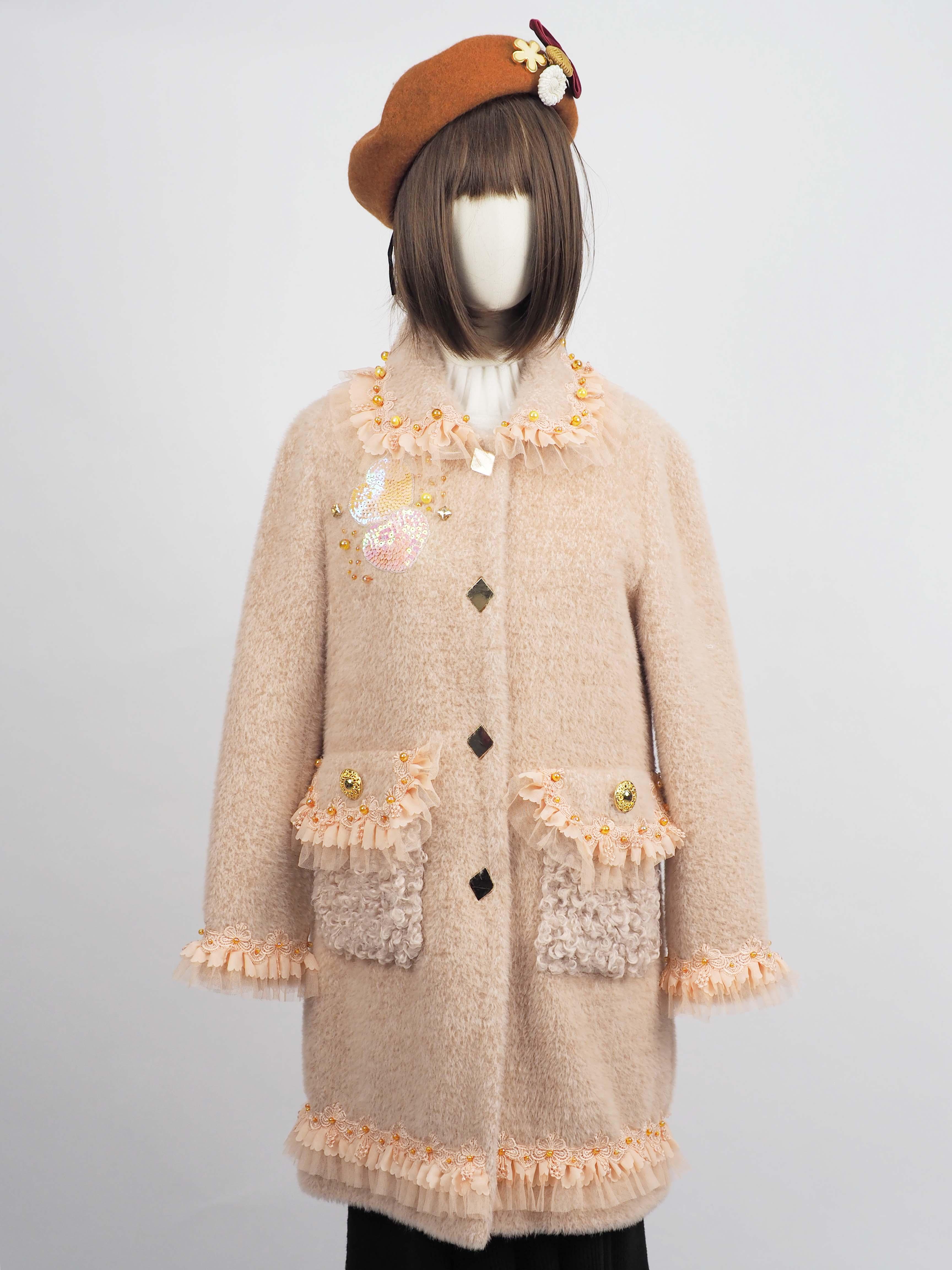 เช่าเสื้อโค้ทผู้หญิง *** Limited Edition ***  รุ่น  Ranunculus Pea Coat  902GCL280FAPKS1