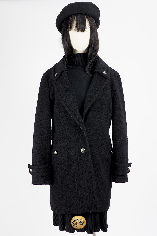 เช่าเสื้อโค้ทผู้หญิง รุ่น  Black Beauty Coat  2006GCL750FABK1