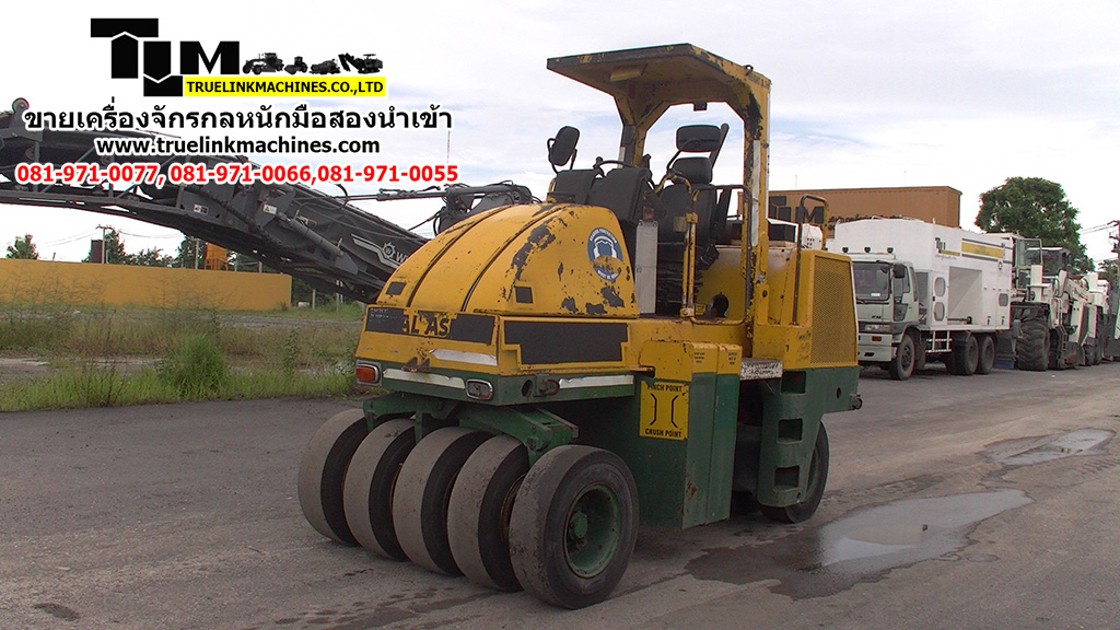 DYNAPAC  CP132 9 wheel  Year  2003