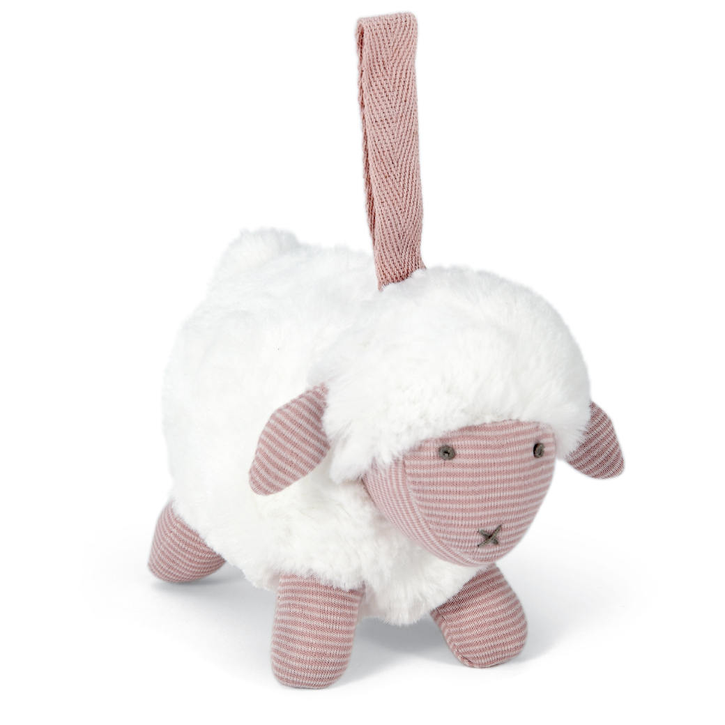 Soft Toy - Chime Sheep Pink