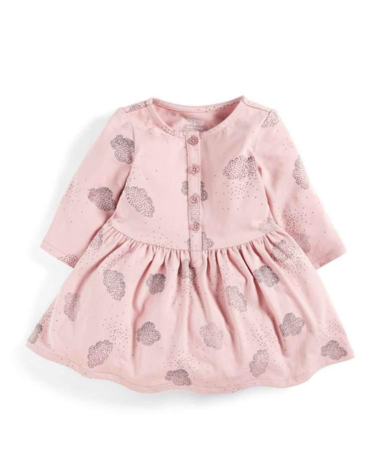 Cloud Print Dress