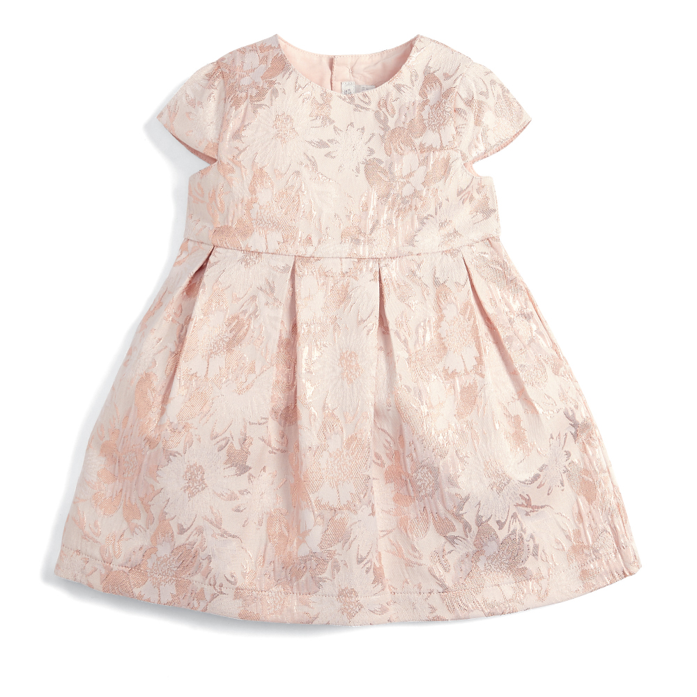 Flower Jaquard Dress