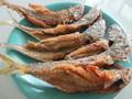 ปลาอินทรีย์แช่น้ำปลาทอด(มินิ)