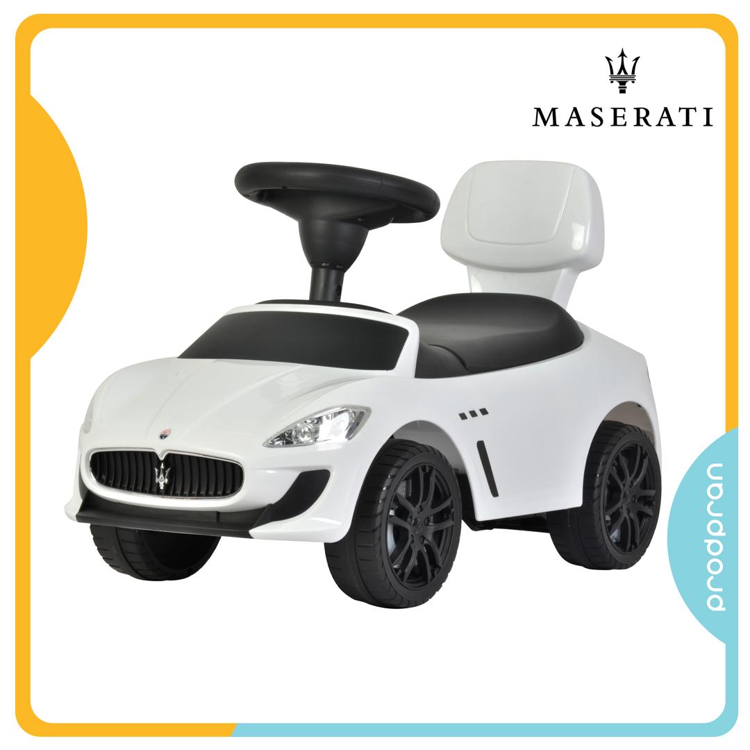รถขาไถสำหรับเด็ก Maserati สีขาว