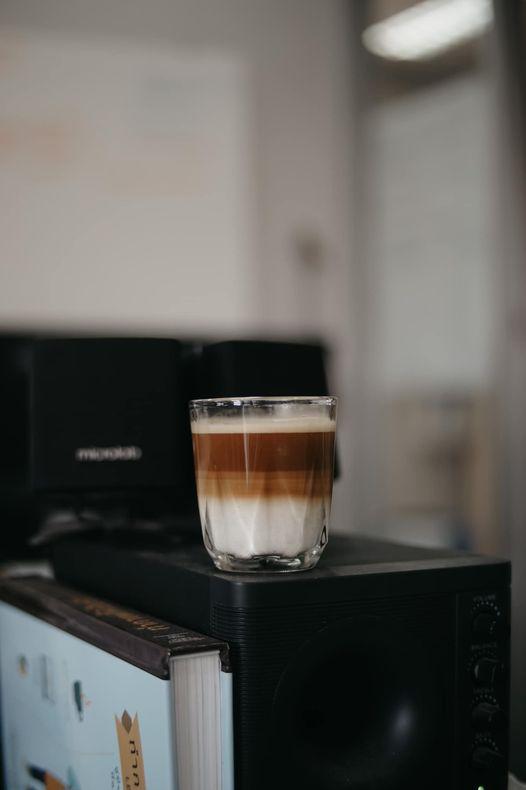 สูตร Dirty Coffee จาก staresso
