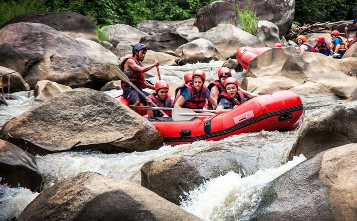 White Water Rafting at Mae Teang River