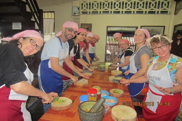 泰式烹飪課程半天课程早上Baan Thai Cookery School