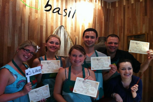 Basil Healthy Cookery School (Evening Course)