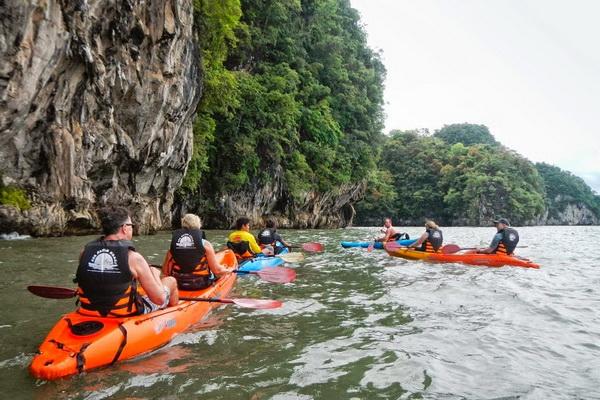 Half Day Trip Kayaking at Ao Talan