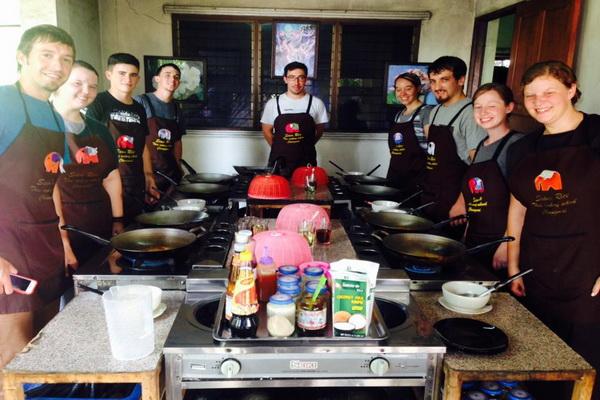 泰式烹飪課程半天课程早上Siam Rice Thai Cookery School