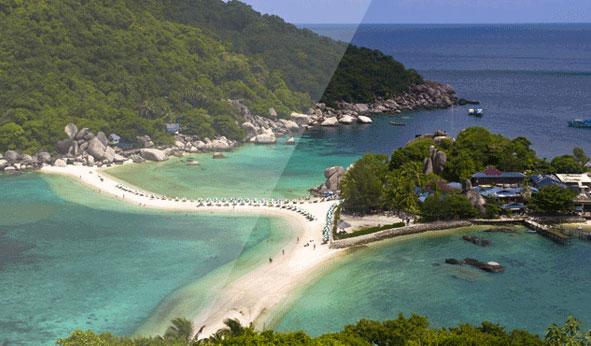 龟岛和南园岛