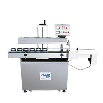 Electromagnetic induction type aluminum foil sealing machine