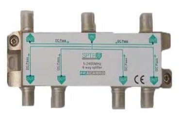 6 Way Fracarro Splitter