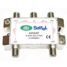 Splitter All Port 4 Ways ยี่ห้อ LEOTECH (dBy)