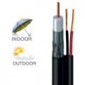 สายนำสัญญาณรุ่น : CCTV500B/AC  สีดำ  มีสายไฟ ยี่ห้อLEOTECH (dBy)