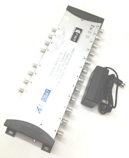 อุปกรณ์ตัดต่อรุ่น INF 8x12 ยี่ห้อ INFOSAT