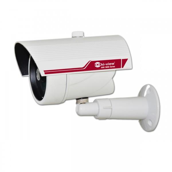 กล้องวงจรปิด AHD Bullet Camera 1.3 Megapixels Lens 3.6mm, IR Array 2 pcs, IR CUT ระยะ 25M /มาตราฐาน IP68