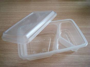 กล่องอาหาร 3 ช่อง 550 กรัมPP